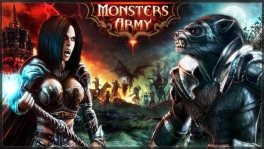 Action-Strategie Browsergame Monsters Army