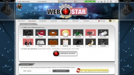 Browsergame Webvideostar - The Game Screenshot